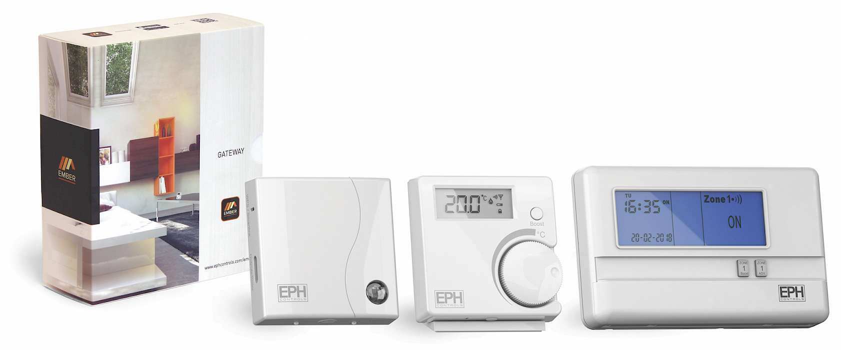 Ember remote heating control package